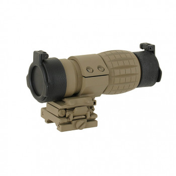 MAGNIFIER AIM-O 3X WITH FLIP TO SIDE MOUNT DARK EARTH