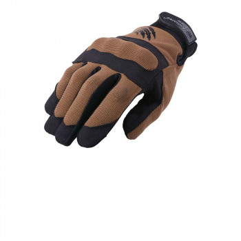 Тактичні рукавицi Armored Claw Shield Flex Tactical Gloves Half-Tan Size S