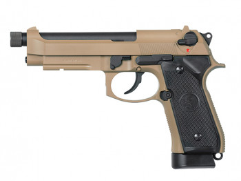 Пістолет KJW Beretta M9A1 CO2 Tan