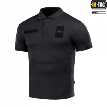 Поло M-Tac Elite Tactical Coolmax Black Size M