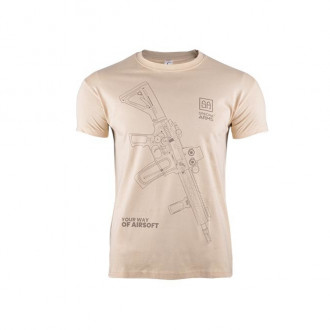 Футболка Specna Arms Your Way Of Airsoft V.1 Tan Size M