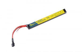 Акумулятор Electro River LiPo 7,4V 1300mAh 25/50C T-connector