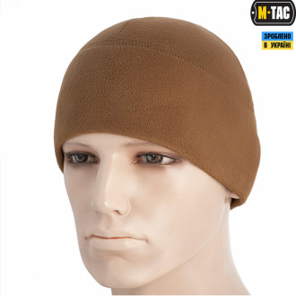 Шапка M-Tac Watch Cap Elite Фліс (260Г/М2) Coyote Brown Size L