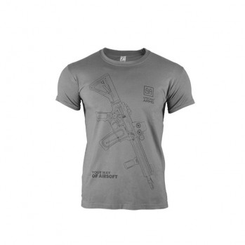 Футболка Specna Arms Your Way Of Airsoft V.1 Grey/Black Size S