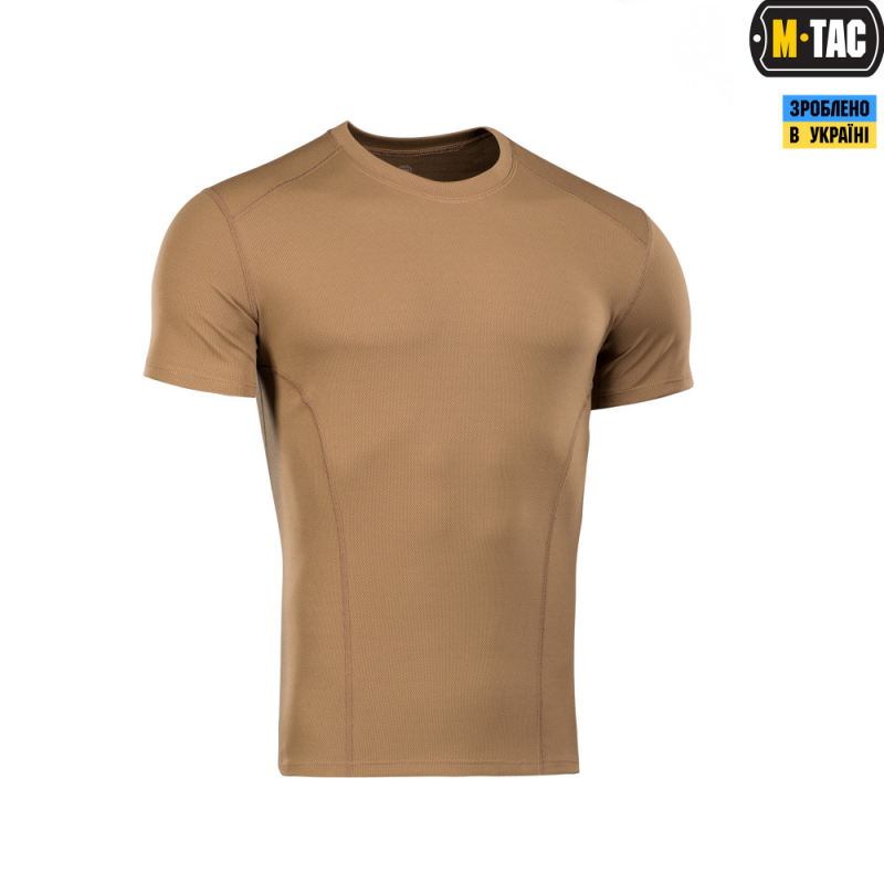 Футболка M-Tac Потовідвідна Athletic Coyote Brown Size XL