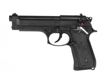 Пістолет KJW Beretta M92F/M9 Metal Green Gas
